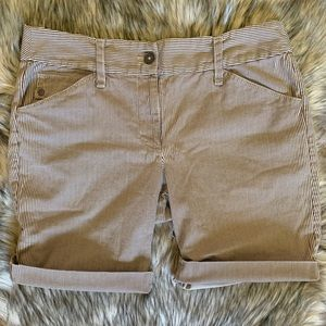 LOFT ANN TAYLOR Striped Bermuda Shorts